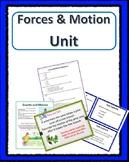 Forces & Motion UNIT 4th Grade Science