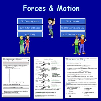 Forces & Motion Unit