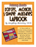 Forces, Motion, and Simple Machines for Primary Grades LAPBOOK Craft Activity