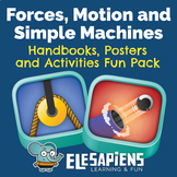 Forces, Motion and Simple Machines handbooks, posters and
