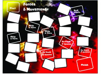 Forces & Movement Board Game Science