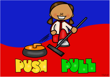 Forces • PUSH and PULL • Boom Cards for Science
