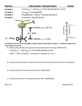 Forces/ Physical Science