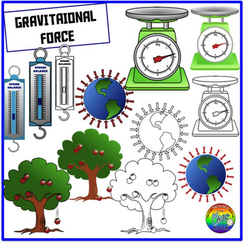 Forces Clipart (Elementary)