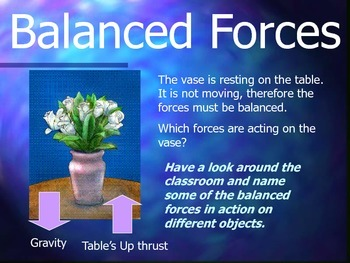Force and Motion: Forces PowerPoint Presentation
