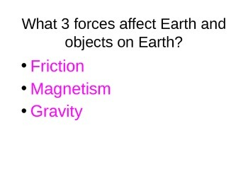 Forces Powerpoint