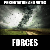 Forces Presentation and Notes | Print | Digital | Distance