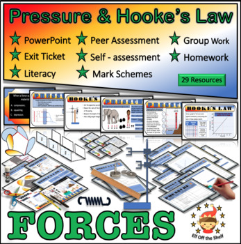 Forces - Pressure and Hooke's Law for Middle School