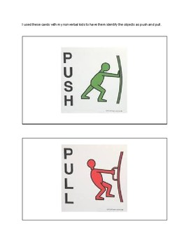 Forces Push/Pull Lab