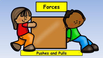 Forces Unit for Kindergarten: Pushes and Pulls (NGSS)