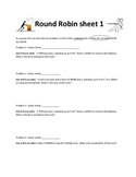 Newton's 2nd Law Forces Round Robin Activity