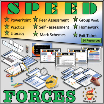 Forces - Speed for Middle School Science