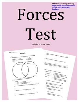 Forces Test