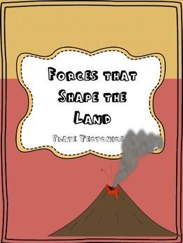 Forces That Shape the Land- Plate Tectonics Cut n' Paste