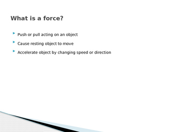Forces and Friction Notes