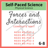 Forces and Interactions Middle School Physical Science Com