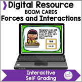 Force and Motion NGSS Boom Cards Distance Learning