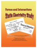 Forces and Interactions Static Electricity Study