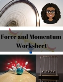 Forces and Momentum Worksheet