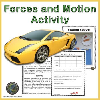 Forces and Motion:  Start Your Engines!