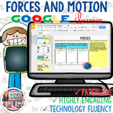 Forces and Motion Digital Interactive Notebook