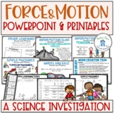 Force and Motion Activities and PowerPoint
