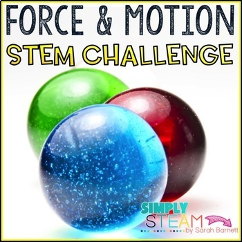 Force And Motion 3rd Grade Stem Project By Simply Steam By Sarah