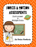 Forces and Motion Assessment