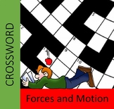 Forces and Motion Crossword