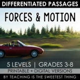 Forces and Motion: Passages - Distance Learning Compatible