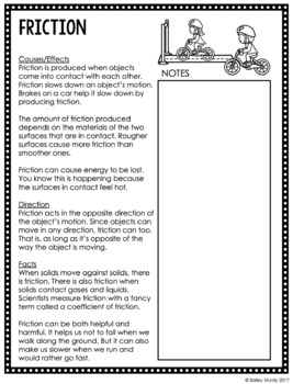 NGSS Gr3 Forces and Motion GLAD Unit