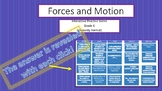 Forces and Motion Interactive PPT Game for Whiteboards