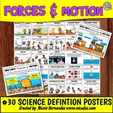 Forces and Motion - Kid-friendly Anchor Charts for the Primary Grades