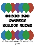 Forces and Motion Lab- Balloon Race