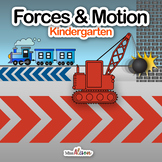 Forces and Motion NGSS Science Unit (works with distance l