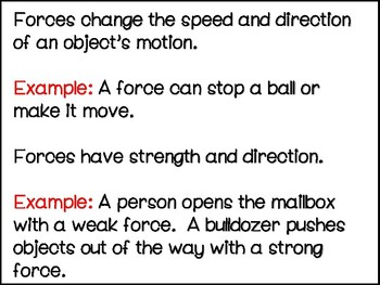 Forces and Motion Power Point