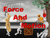 Forces and Motion PowerPoint Readers' Theater With Notes and Test Bundle