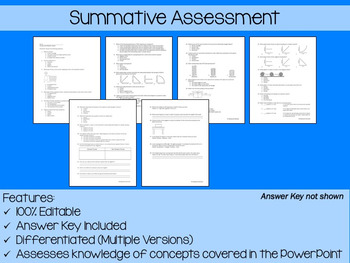 Forces and Motion PowerPoint, Notes & Exam (Differentiated and Editable)