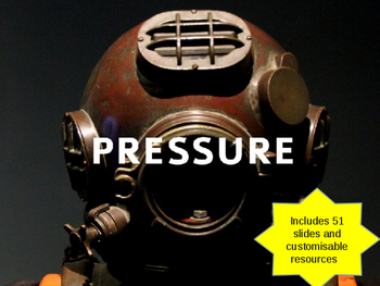 Forces and Motion - Pressure in solids, liquids and gases,