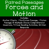 Forces and Motion Reading Comprehension Paired Passages