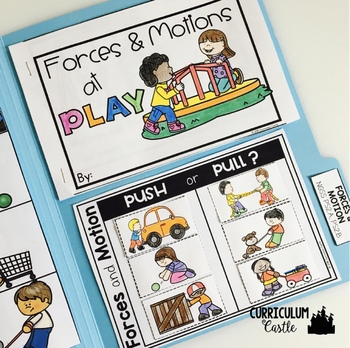 Forces and Motion Science Activities Folder