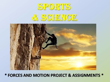 PROJECT: Forces and Motion (Science and Sports)