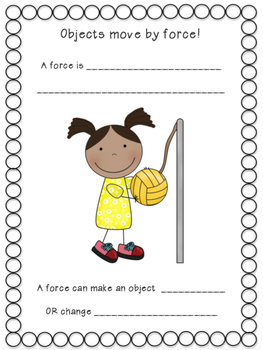 Forces and Motion Second Grade Unit