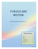 Forces and Motion Student Note Taking Booklet for Essential Standards