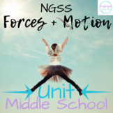 Forces and Motion UNIT | Middle School Science | Student-Centered