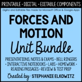 Forces and Motion Unit Bundle