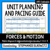 Forces and Motion Unit Planning Guide