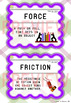 Forces and Motion Vocabulary Cards
