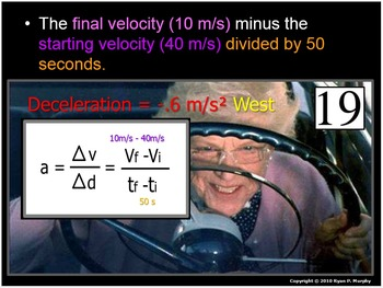 Forces in Motion Quiz, Kinetic and Potential Energy, Velocity, Speed