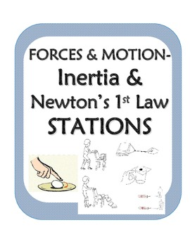 force and motion stations inquiry activities for newton s 1st law